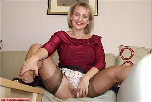 Michelles-nylons. Michelle is a housewife who loves watching porno movies, ...
