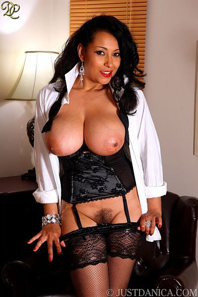 Big Tits Danica Busty MILF In Net Stockings And Suspenders Nylon Sex Video